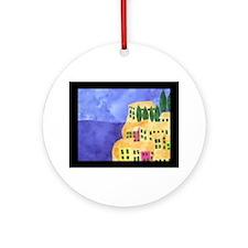 cinque-terre Round Ornament