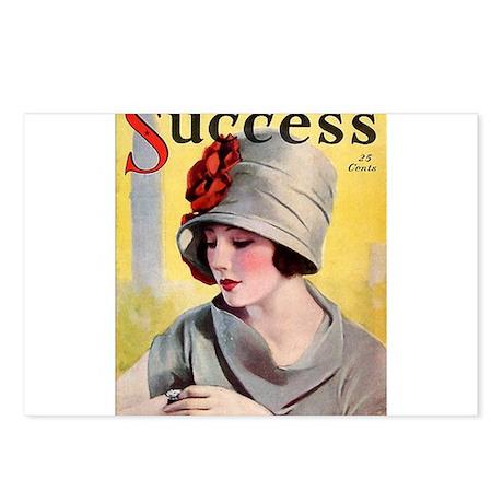 Art Deco Flapper Magazine Cover Roaring 20s Wearin