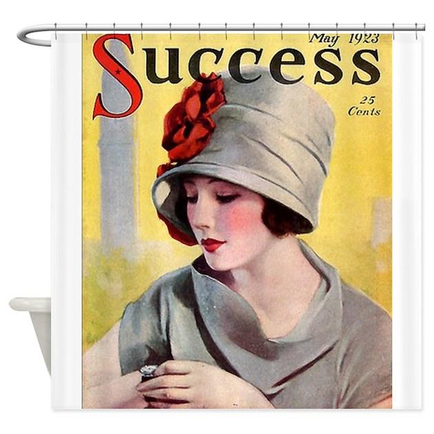 Art Deco Flapper Magazine Cover Roaring 20s Wearin By