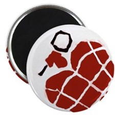Heart Handgrenade Magnet