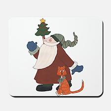 Juggling Santa Mousepad