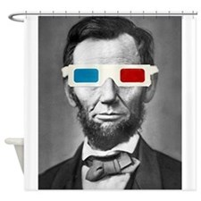 Abraham Lincoln 3D Glasses Altered Att Shower Curt