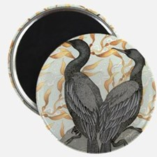 cormorant2SQUARE Magnet