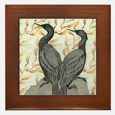 cormorant2SQUARE Framed Tile