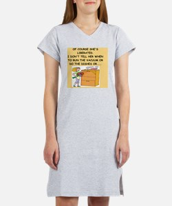 mcp joke Women's Nightshirt