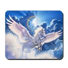 pegasus flying high Mousepad