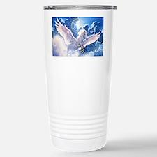 pegasus flying high Stainless Steel Travel Mug