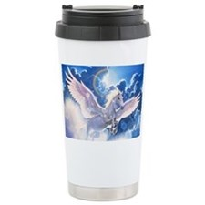 pegasus flying high Travel Mug