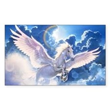 pegasus flying high Decal