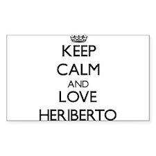 Keep Calm and Love Heriberto Decal