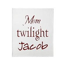 459_Jacob Twilight Mom Throw Blanket