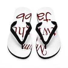 459_Jacob Twilight Mom Flip Flops