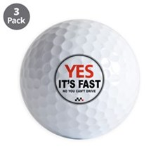 Yes Its Fast copy_2 Golf Ball