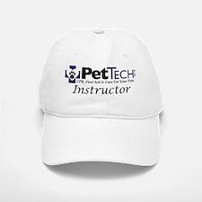 Pet Tech Logo_2010_Instructor Baseball Baseball Cap