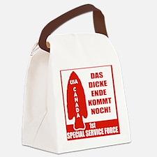 DasDicke Canvas Lunch Bag