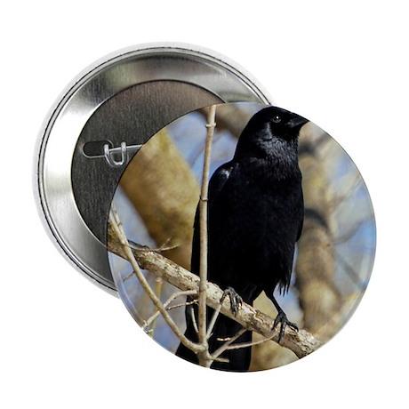 "Crow 2.25"" Button"