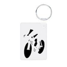 Cycling-dark Keychains