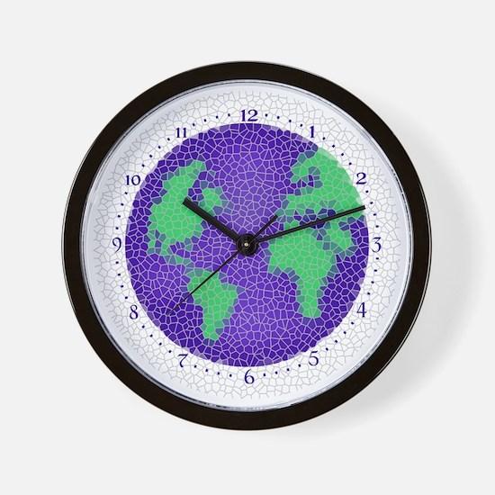earth-clock Wall Clock