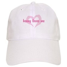 """""""kenny loves me"""" Baseball Cap"""