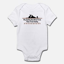 My daddy has more tools Infant Bodysuit