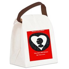 true love Canvas Lunch Bag