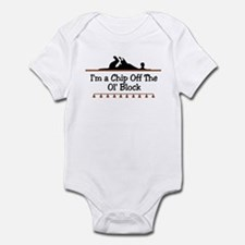Chip off the ol' block Infant Bodysuit