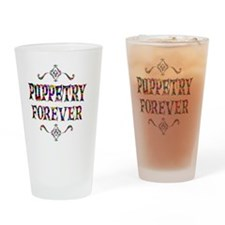 puppetry Drinking Glass