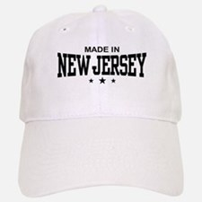 Made In New Jersey Baseball Baseball Cap