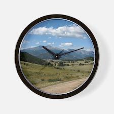 mountain_road_TC Wall Clock
