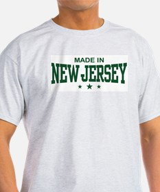 Made In New Jersey Ash Grey T-Shirt