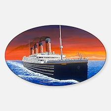 Titanic Sticker (Oval)