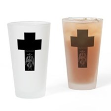 Baphomet Cross Drinking Glass