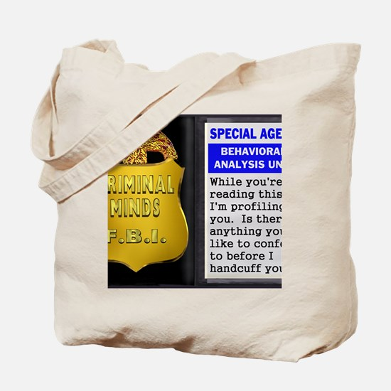 criminds1a Tote Bag