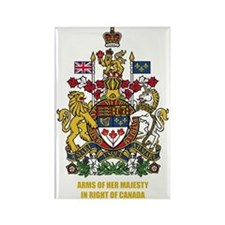 Canada COA Rectangle Magnet