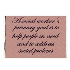 Social work ethics 1 Postcards (Package of 8)