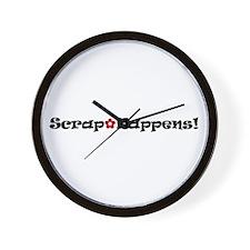Unique Scrapwear Wall Clock