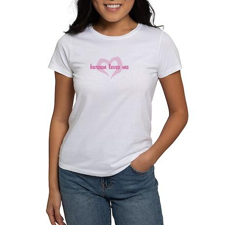 """""""kareem loves me"""" Women's T-Shirt"""
