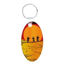 on any sunday Keychains