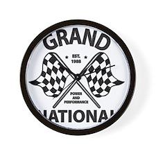 gRAND NAT RACE Wall Clock