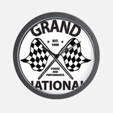 gRAND NAT RACE Wall Clock