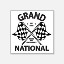 "gRAND NAT RACE Square Sticker 3"" x 3"""