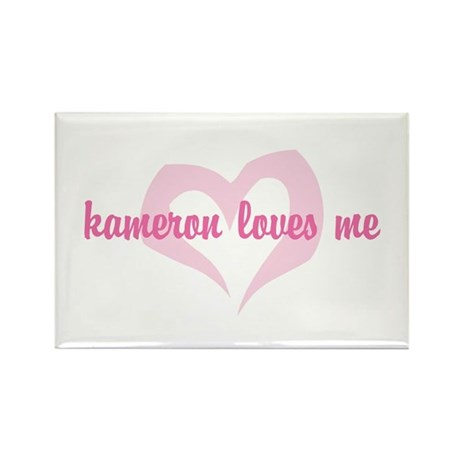 """kameron loves me"" Rectangle Magnet (100 pack)"