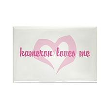 """""""kameron loves me"""" Rectangle Magnet"""