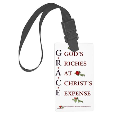 Grace1 Large Luggage Tag