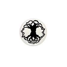 Celtic Tree of Life Mini Button