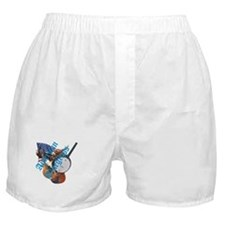 bluegrass full shirt Boxer Shorts