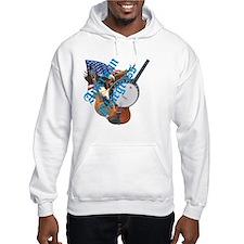 bluegrass full shirt Hoodie