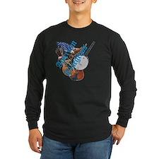 bluegrass full shirt Long Sleeve T-Shirt