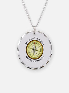 CompassButton Necklace
