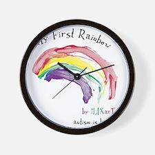 Rainbow_FF Wall Clock
